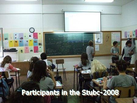 alunos d o 6A os primeiros participantes no desafio de alunos