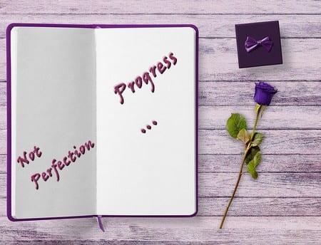 Progresso, não a perfeição